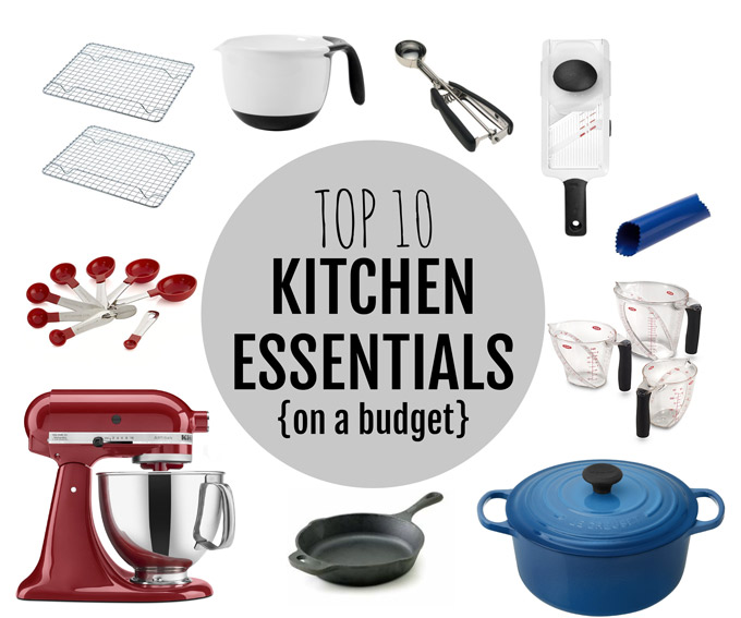 Kitchen Essentials + Dream Kitchen