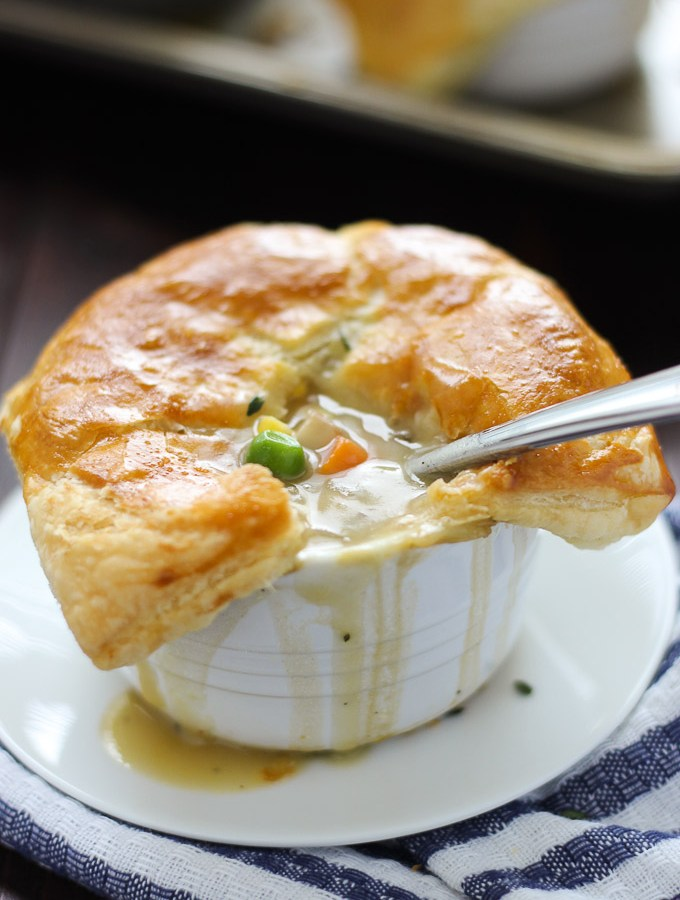 Individual Vegetarian Pot Pies // forkinthekitchen.com