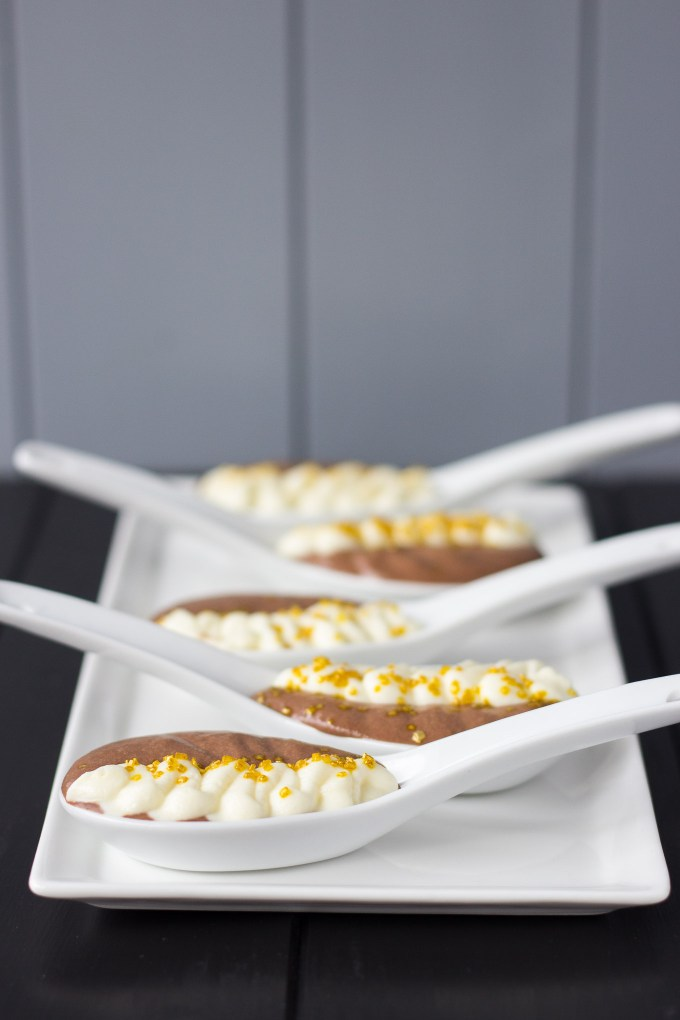 Dark and White Chocolate Mousse // Fork in the Kitchen