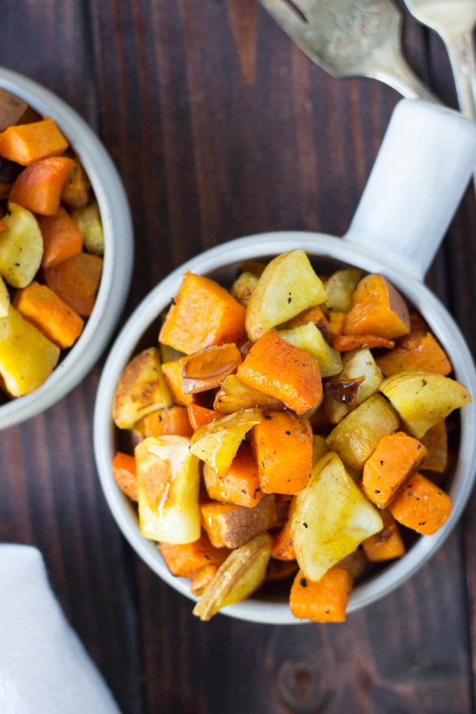 Roasted Root Vegetables // Fork in the Kitchen