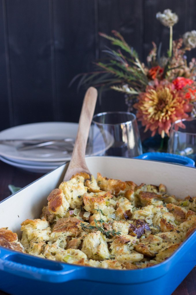 Vegetarian Herbed Stuffing/Dressing
