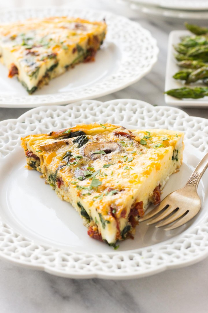 Mediterranean Frittata // Fork in the Kitchen
