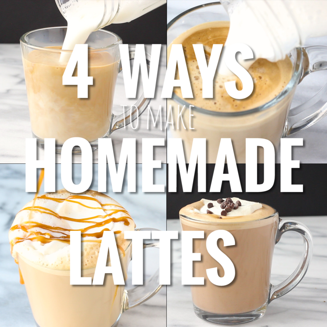 4 Ways to Make Homemade Lattes