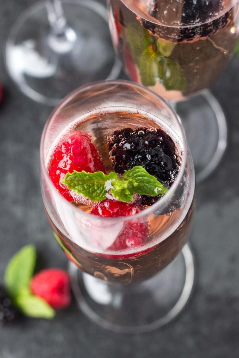Chambord Berry Champagne
