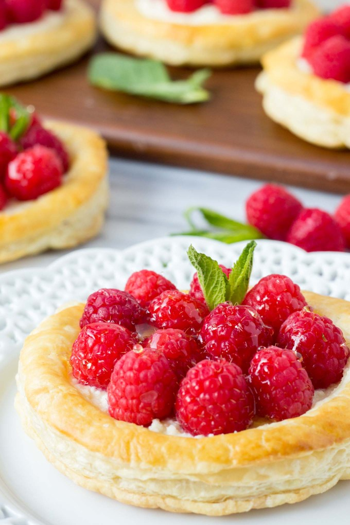 Raspberry Lemon Mascarpone Pastries   Fork in the Kitchen