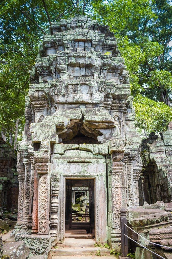 Siem Reap, Cambodia   Ta Prohm   Fork in the Kitchen