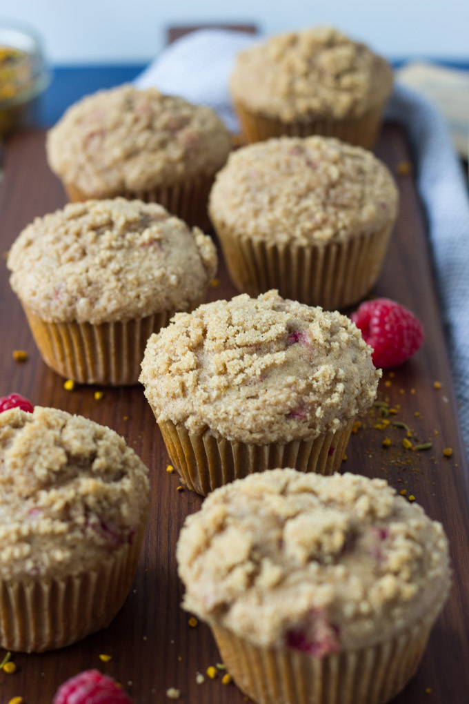 Chai Raspberry Muffins | Fork in the Kitchen