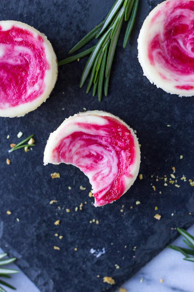 Mini Cranberry Pistachio Cheesecakes   Fork in the Kitchen