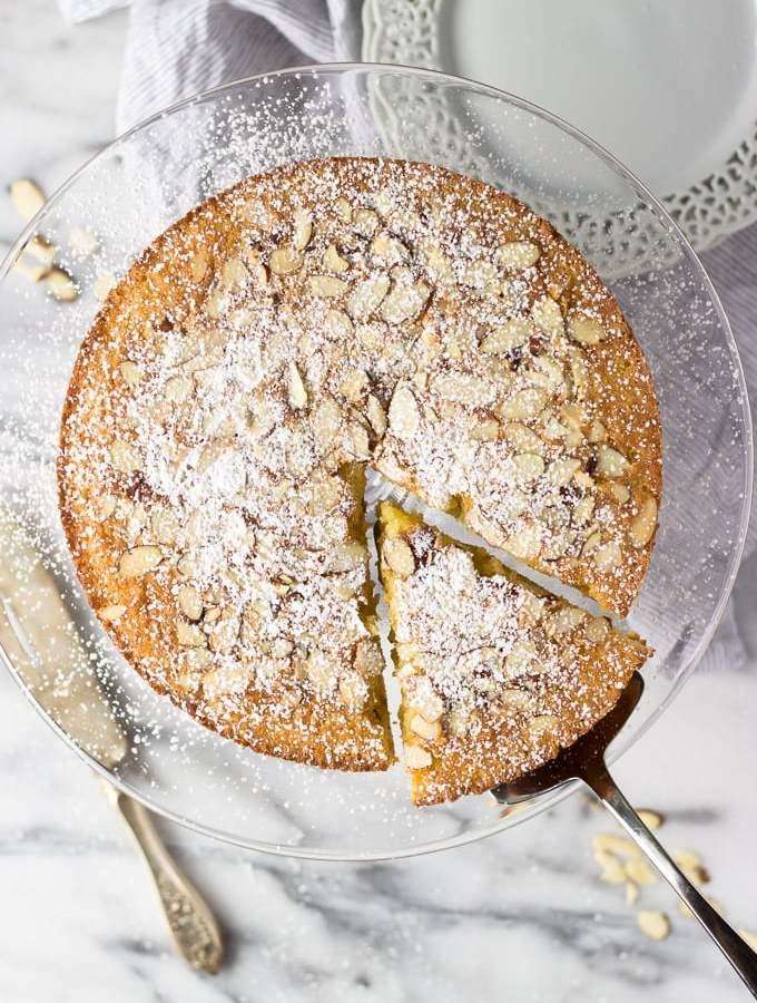 Almond Cardamom Cake