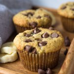 Small Batch Banana Chocolate Muffins - a quick, easy breakfast!   Fork in the Kitchen