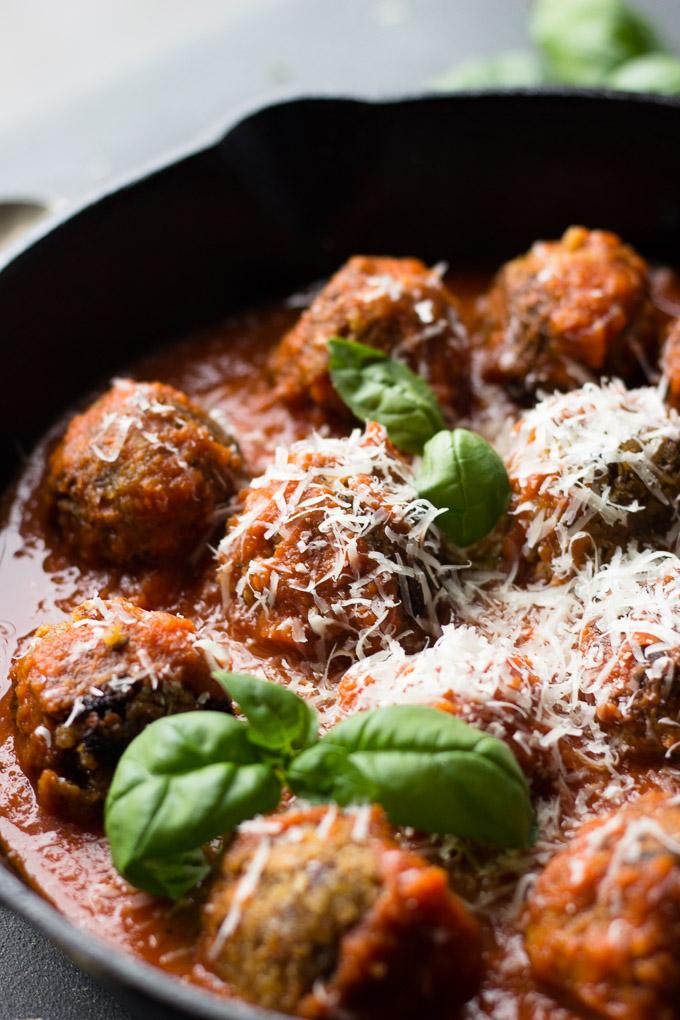 Super Savory Vegetarian Meatballs Fork In The Kitchen
