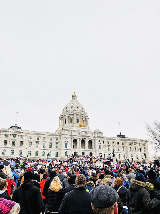 Minnesota Capital Protest | Fork in the Kitchen