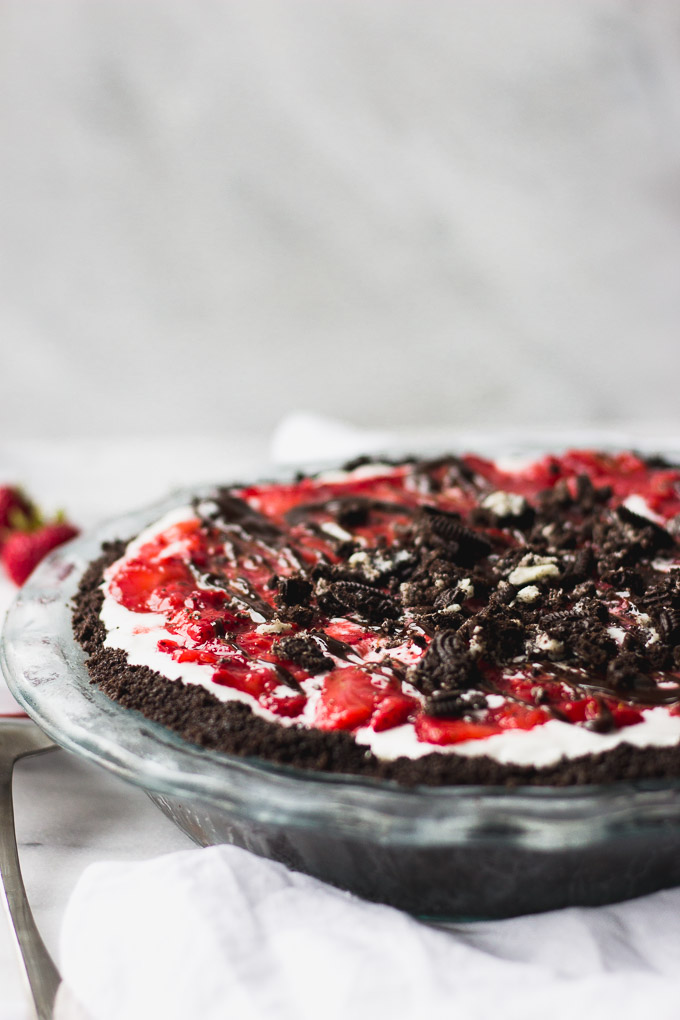 Chocolate Crunch Ice Cream Pie | Fork in the Kitchen