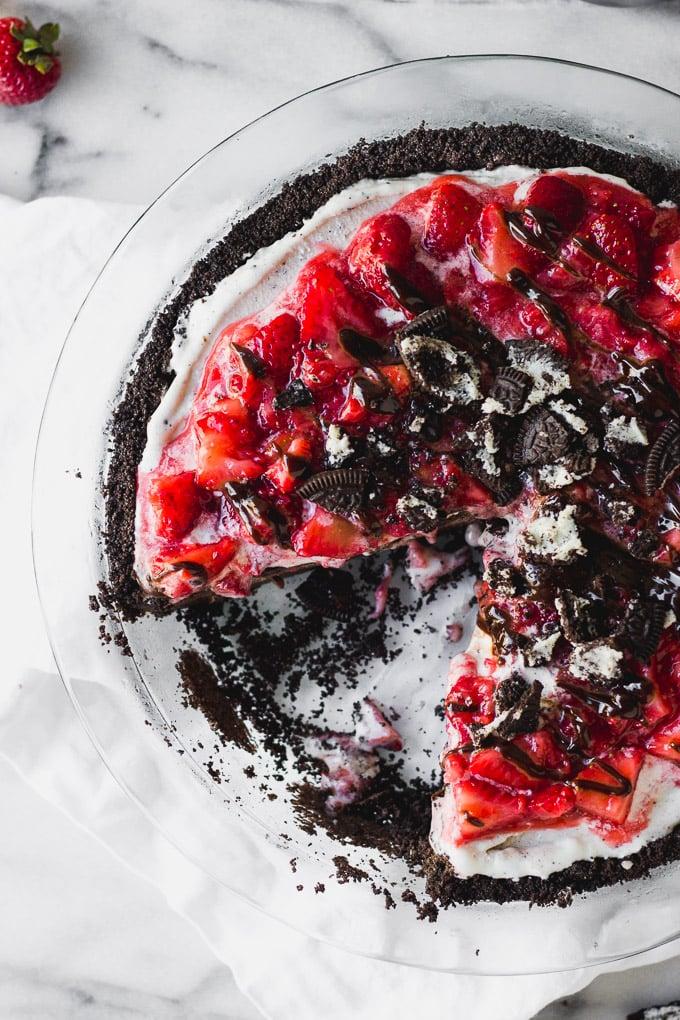 Chocolate Crunch Ice Cream Pie | Fork in the Kitchen