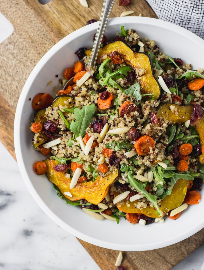 Autumn Acorn Squash Salad