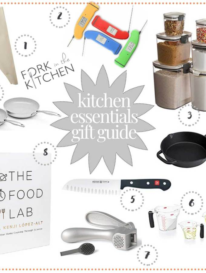 Kitchen Essentials Gift Guide 2018 | Fork in the Kitchen