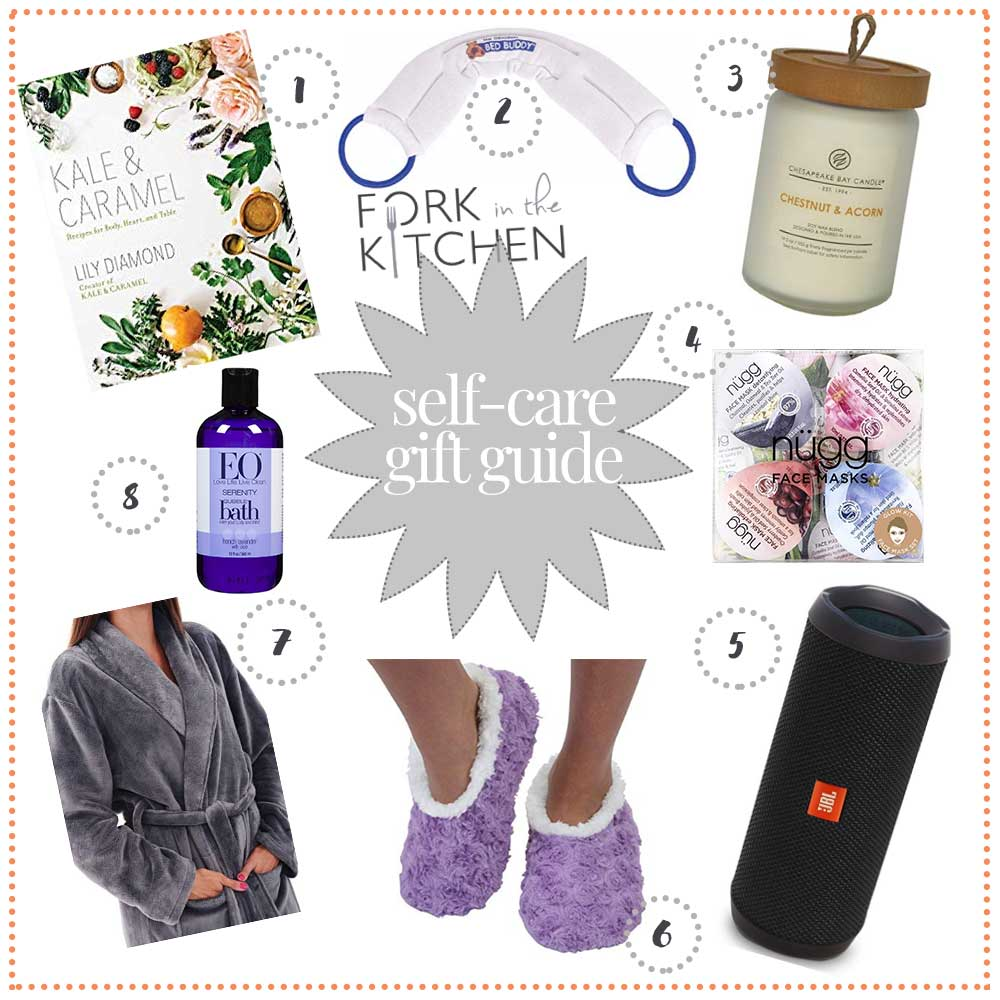 Self Care Gift Guide 2018 | Fork in the Kitchen