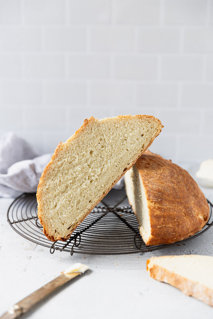 sliced french bread loaf