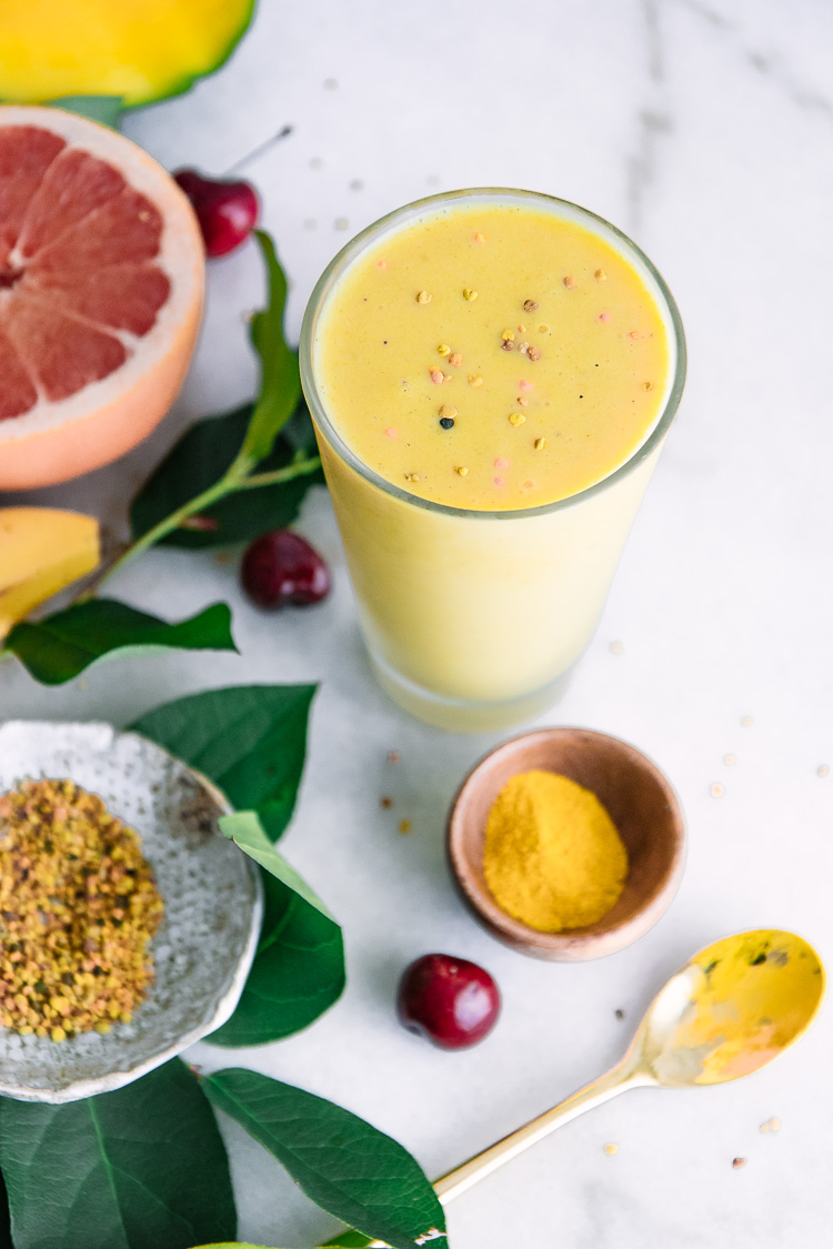 Mellow Yellow Superfood Smoothie