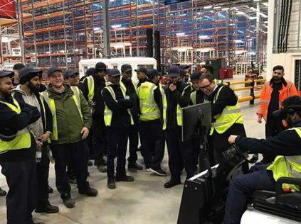 virtual reality training Forklift Operators