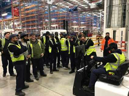 virtual reality training Forklift Operators