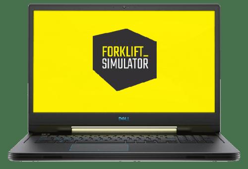 forklift simulator dell computer