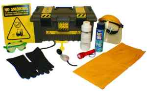 Forklift Battery Care Box