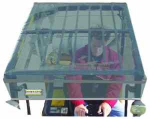 Forklift Solar Cap Top