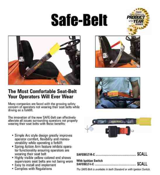 Safe Belt Info Sheet