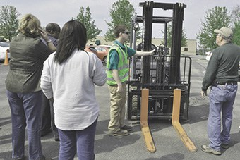 forklift training for job seekers