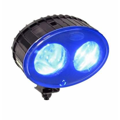 JW Speaker 770BLU Blue Forklift Safety Spot Light, 12-48V LED, 9W-1
