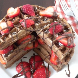 Belgian Chocolate Waffles