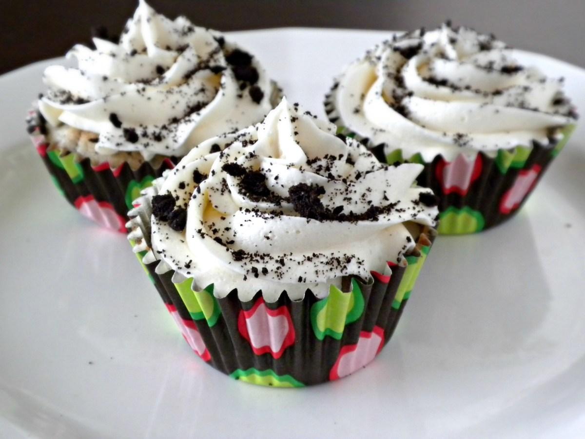 Cookies & Creme Seduction Cupcakes