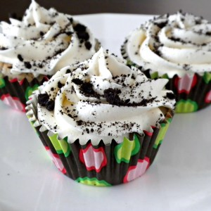 Cookies & Creme Seduction Cupcakes