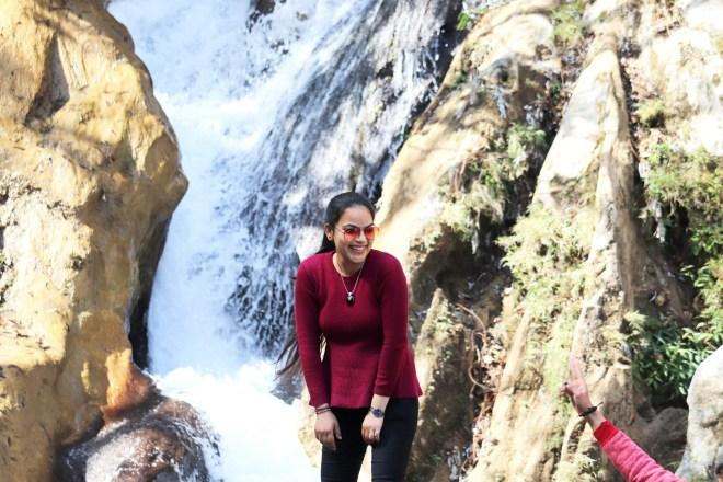 Kempty Falls at Mussoorie