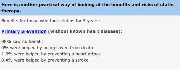 mmmm4 Who Should Take Cholesterol lowering Statins? Everyone or No One?