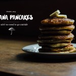 Banana Pancakes for Two