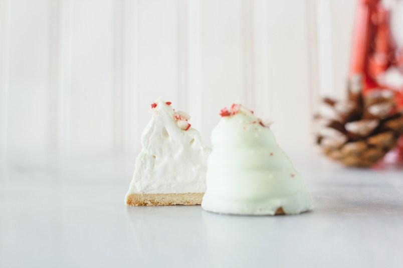christmas flødeboller fork to belly