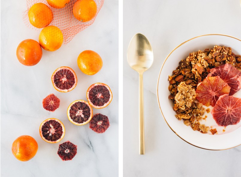 hazelnut almond quinoa granola fork to belly