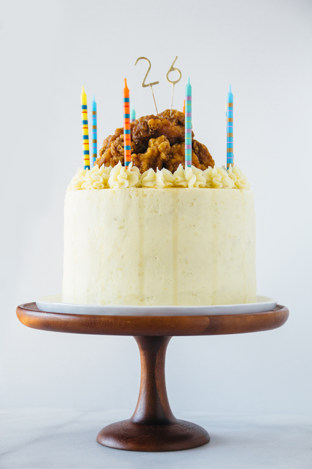 The Kfc Korean Fried Chicken Cake Forktobelly