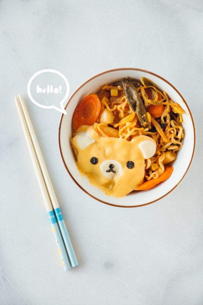 rabokki fork to belly