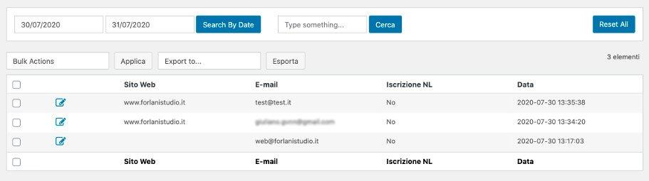 report contatti 3 | Forlani Studio