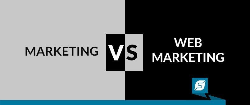 marketing tradizionale web marketing