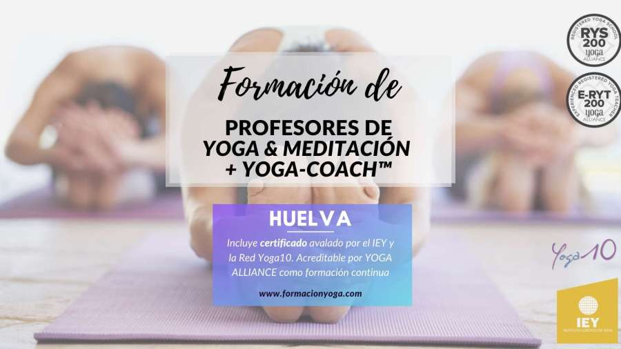 Formación YOGA MEDITACION YOGA COACH - Huelva