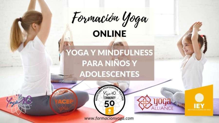 formacion yoga online - yoga y mindfulness para niños y adolescentes