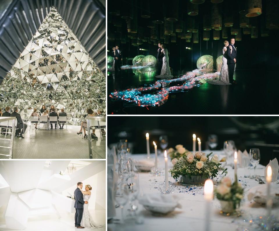 Heiraten in den Swarovski Kristallwelten | fotografiert von FORMA photography
