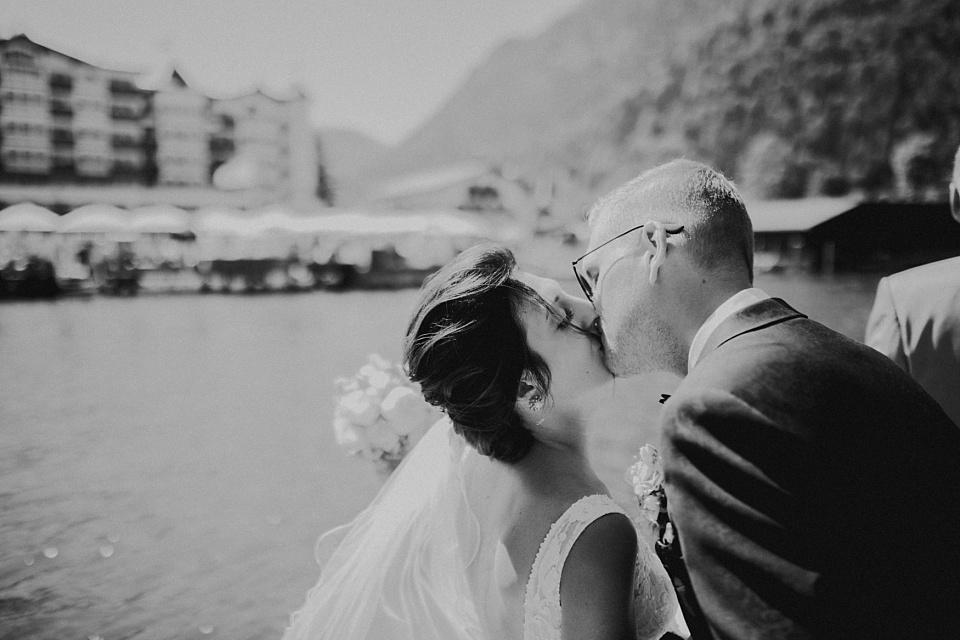 Hochzeit am Achensee, Paarshooting, Boot