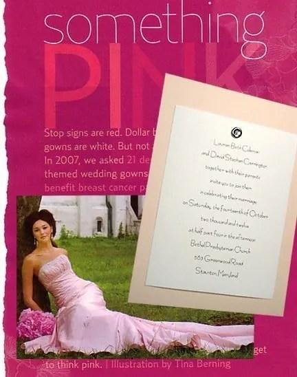 Blushing Pink Wedding Invitations