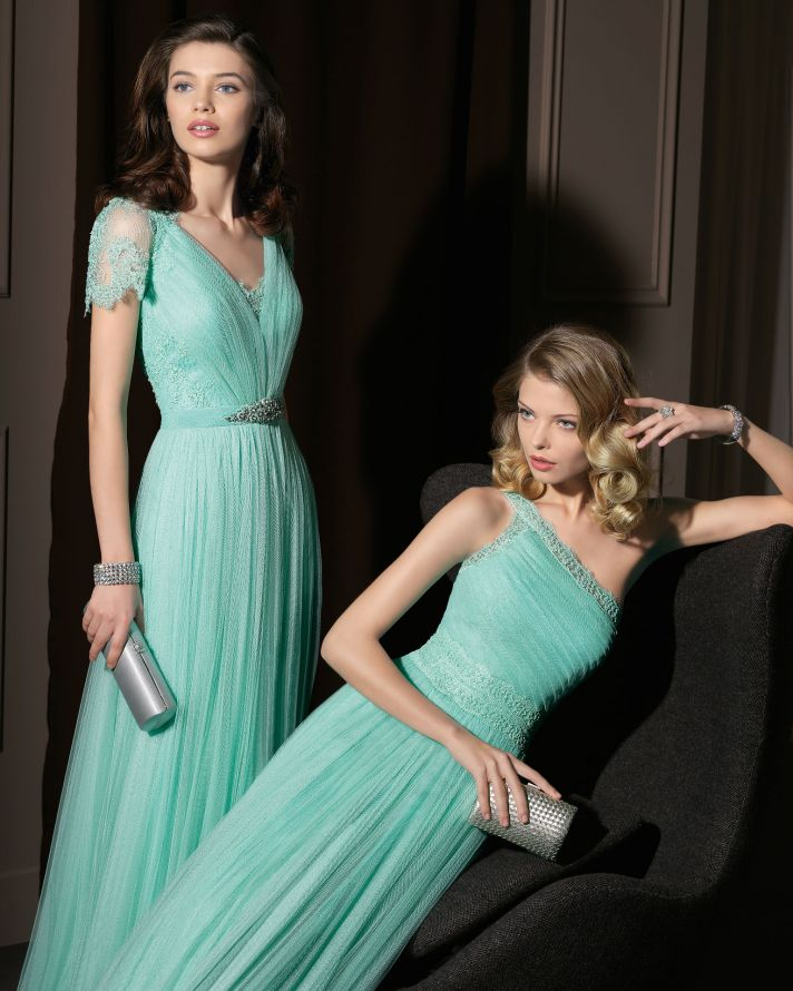 green Bridesmaid Dresses Australia