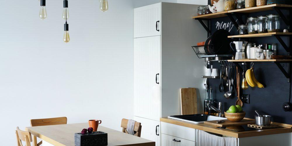 une cuisine equipee pour un petit studio